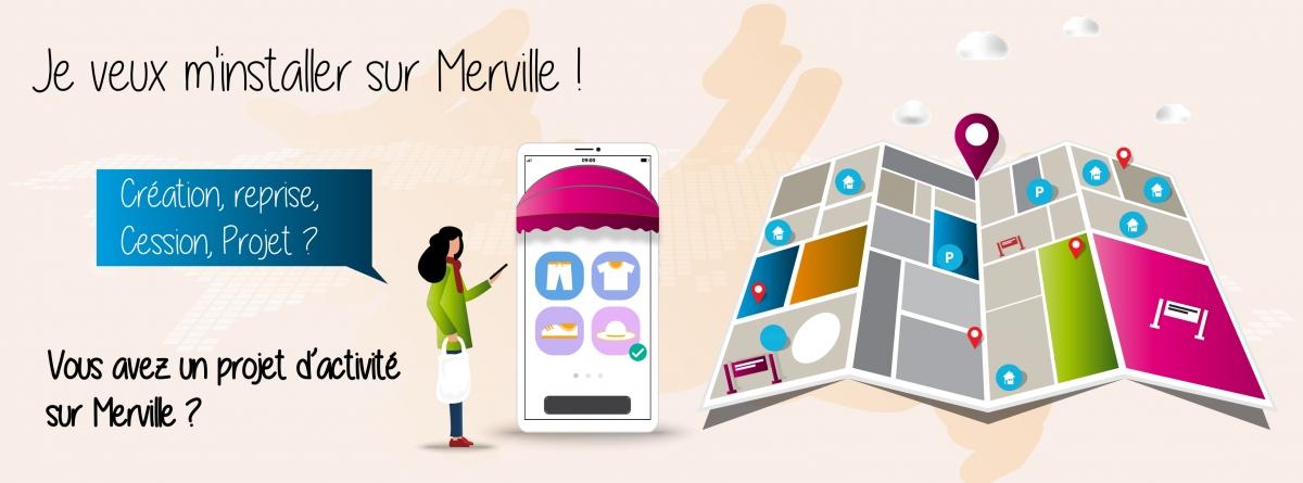Je veux m'installer sur Merville !
